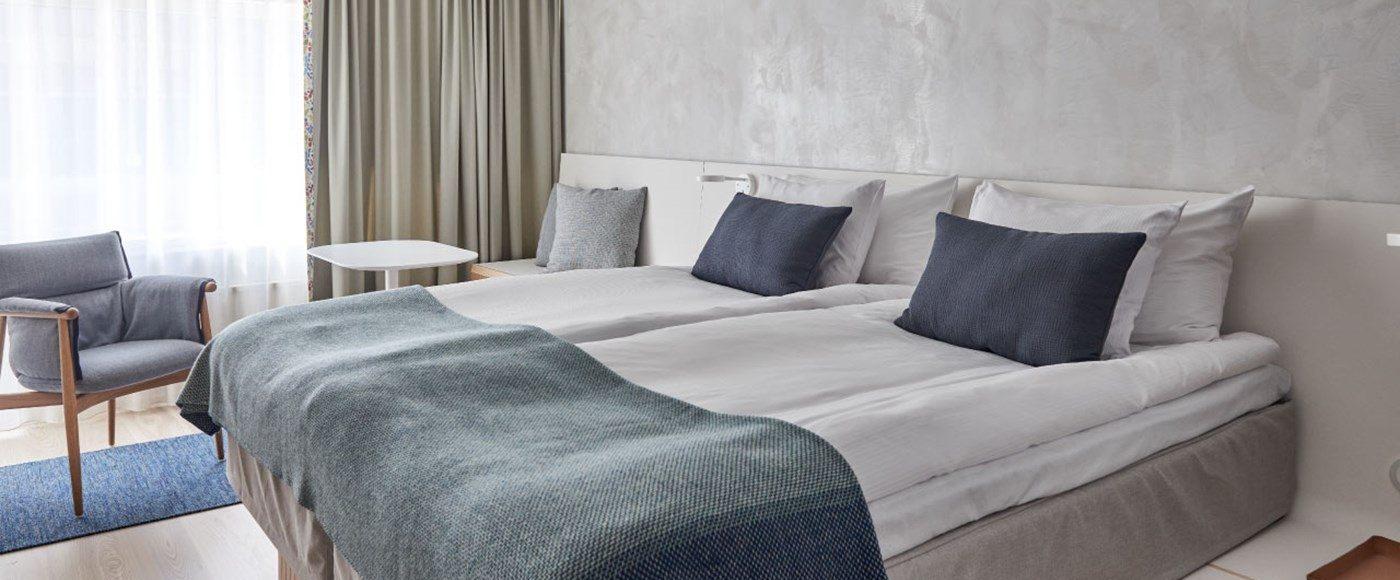 Superior King ett lite rymligare rum på Nordic Light Hotel
